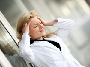 месячные стресс