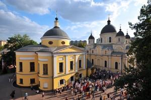 Покровский ставропигиальный женский монастырь у Покровской заставы города Москвы