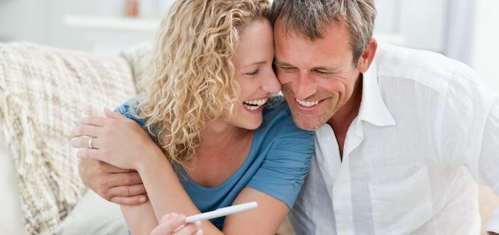 Семейная пара и беременность