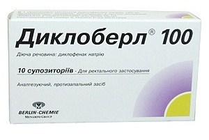 препарата Диклоберл 100