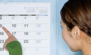 Вычисление месячных по календарю