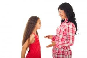 Подготовка девочек к месячным