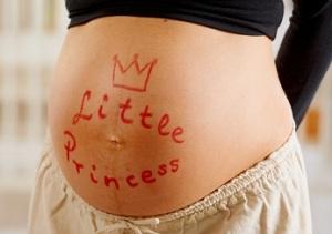 Беременна девочкой