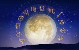 Луна и зодиак